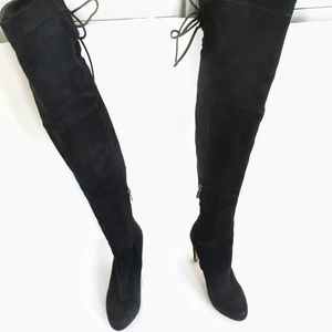 Sam Edelman over the knee suede boots us size 6.5